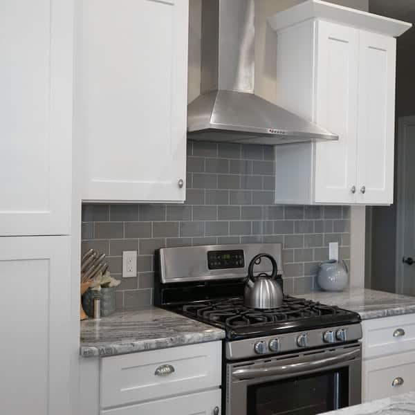 Shop Everyday Cabinets 42-inch White Shaker Blind Corner ...