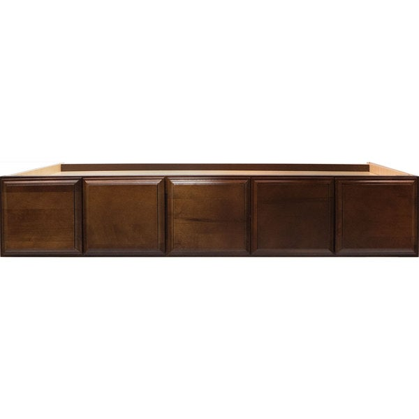 Shop Everyday Cabinets 30-inch Cherry Mahogany Brown Leo