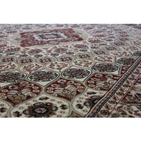 Beige Kerman Persian Area Rug (8' x 11')