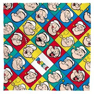 Popeye/Many Moods Polyester Bandana