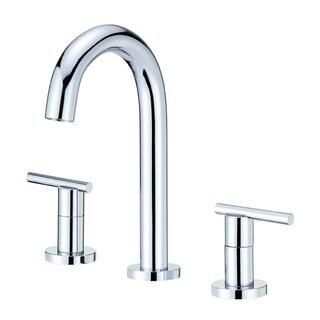 Danze Parma Trim Line 2H Mini-Widespread Lavatory Faucet w/ Metal Touch Down Drain 1 2gpm Chrome D304658