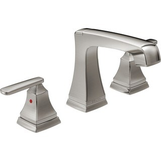 Delta Ashlyn Two Handle Widespread Lavatory Faucet with EZ Anchor 3564-SSMPU-DST Stainless