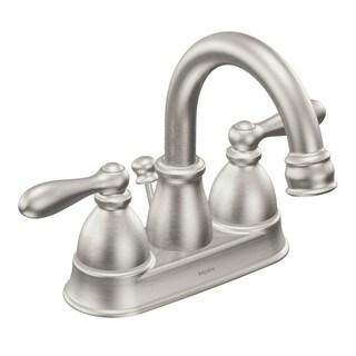 Moen Caldwell Centerset Bathroom Faucet CA84667SRN Spot Resist Brushed Nickel