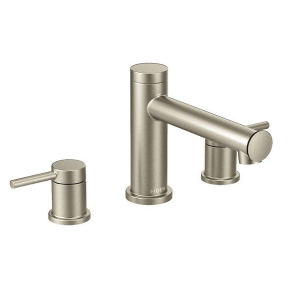 Shop Moen Align Tub Faucet T393bn Brushed Nickel Free Shipping