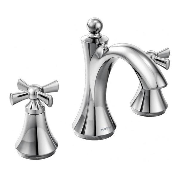 Moen Wynford Two-Handle Bathroom Faucet, Chrome (T4524)