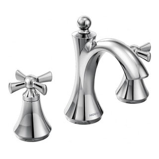 Moen Wynford Mini Widespread Bathroom Faucet T4524 Chrome