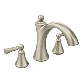 moen tub faucets brushed nickel. Moen Wynford Tub Faucet T653BN Brushed Nickel Bathroom Faucets For Less  Overstock