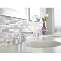 Moen Rizon Two-Handle Low Arc Bathroom Faucet T6920 Chrome