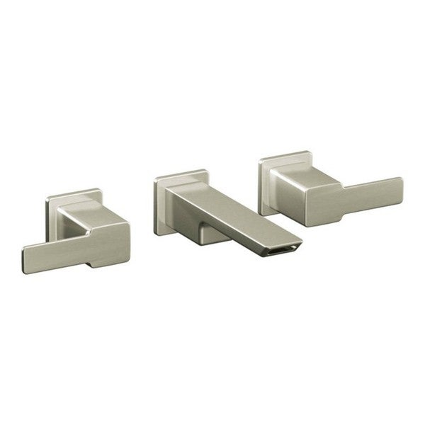 Moen 90 Degree Widespread Bathroom Faucet TS6730BN Brushed Nickel ...