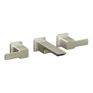 Moen 90 Degree Widespread Bathroom Faucet TS6730BN Brushed Nickel