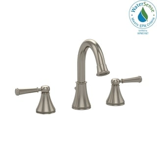 Toto Widespread Bathroom Faucet TL220DD1H#BN Brushed Nickel