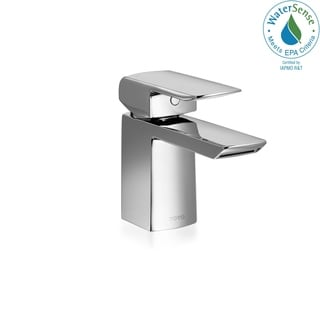 Toto Soiree Brass 1Vlv Lav Faucet 1.5Gpm TL960SDLQR#CP Polished Chrome