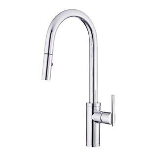 Danze Parma Single Hole Kitchen Faucet D454058 Polished Chrome