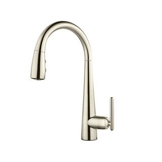 Pfister Lita Pull-Down Kitchen Faucet Polished Nickel GT529SMD