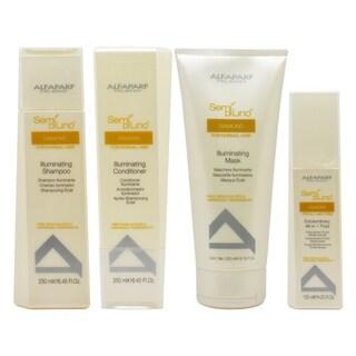 Alfaparf Semi Di Lino 4-piece Hair Care Kit