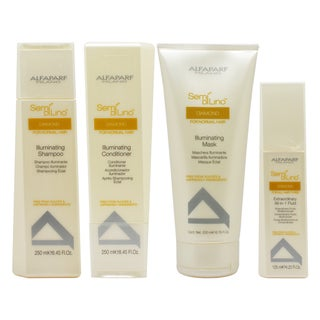 Alfaparf Semi Di Lino 4-piece Hair Care Kit