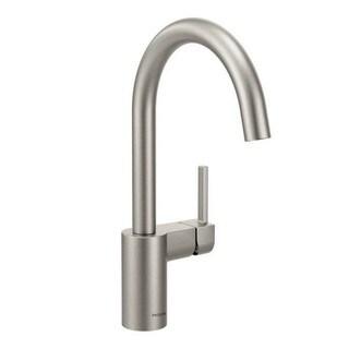 Moen Arbor Single Hole Kitchen Faucet 7365SRS Spot Resist Stainless