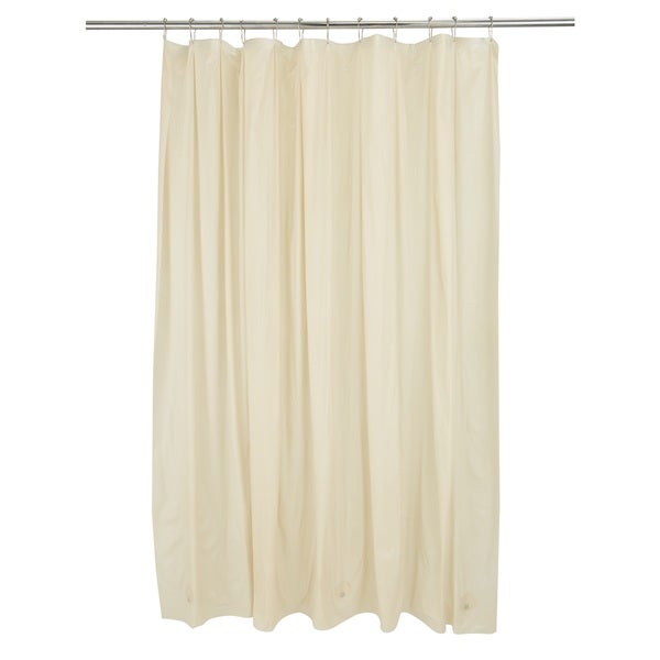 Kennedy Home Collection Shower Liner in Beige