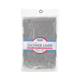 Kennedy Home Collection Shower Liner in Clear