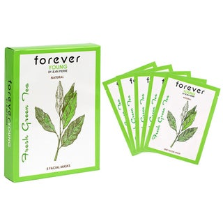 Jean Pierre Forever Young Fresh Green Tea Facial Masks (Pack of 5)