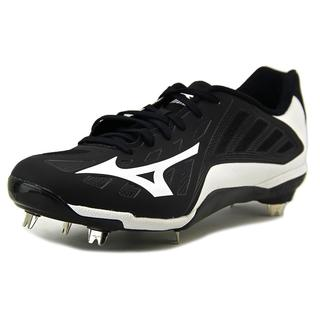 Mizuno Men's 'Heist IQ' Black Leather Athletic Shoes