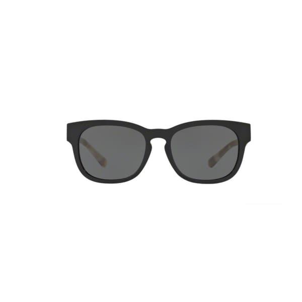 2c7e45b83b5e Burberry BE4226 360087 Black Plastic Square Sunglasses with 55mm Lens
