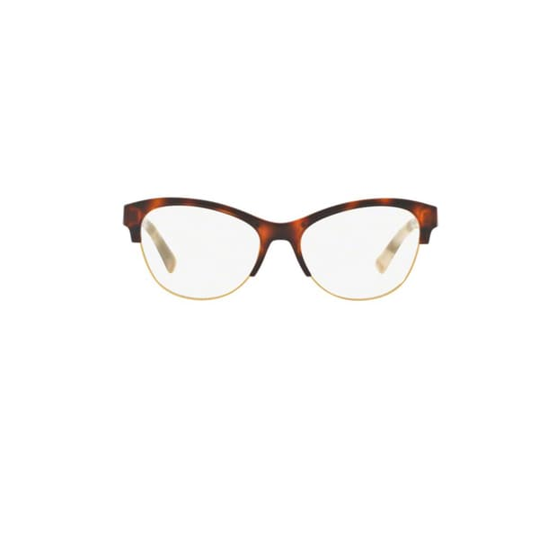 62e6f8124719 Burberry BE2235 3601 Light Havana Plastic Cat Eye Eyeglasses w  53mm Lens