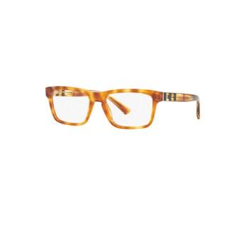 Burberry BE2226 3605 Light Havana Plastic Square Eyeglasses w/ 55mm Lens