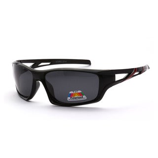Epic Eyewear Polarized Full-framed Outdoors Sports Polarized UV400 Sunglasses
