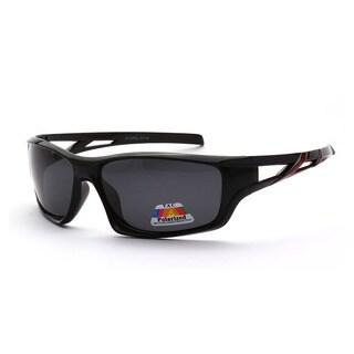 Epic Eyewear Polarized Full-framed Outdoors Sports Polarized UV400 Sunglasses