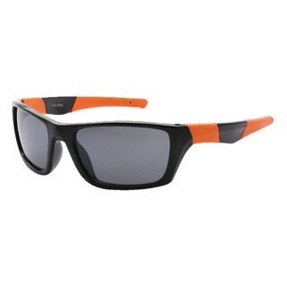 Epic Eyewear Men's Outdoors Sports Full Square-framed UV400 Sunglasses