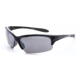 Epic Eyewear Men's UV400 Half-framed Outdoors Sports Sunglasses