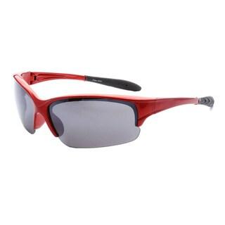 Epic Eyewear Men's UV400 Half-framed Outdoors Sports Sunglasses