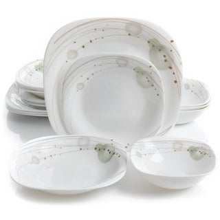 Oster Stargaze 16pc Double Bowl Dinnerware Set