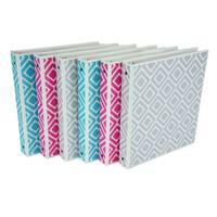 Samsill 1 Diamond Print Binder (6-Pack)