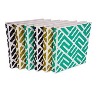 Samsill 1 Maze Print Binder (6-Pack)