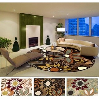 Meticulously Woven Mid Rug (5'3 Round)