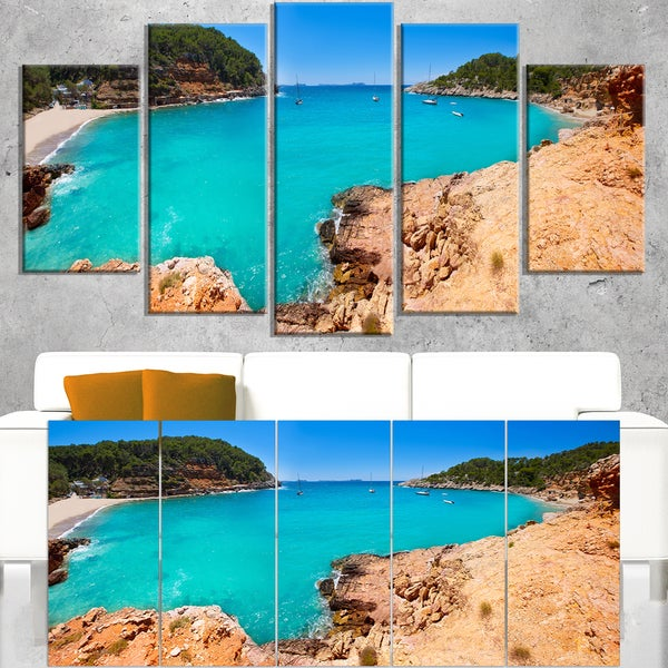 Saladeta Ibiza in San Antonio - Modern Seascape Canvas Artwork