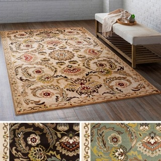 Meticulously Woven Pan Rug (5'3 x 7'3)
