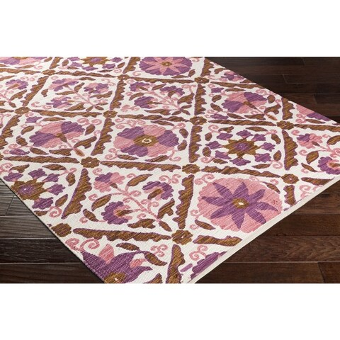 Hand-Woven Rodeo Cotton Rug