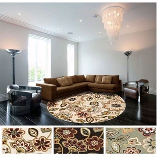Meticulously Woven Rue Rug (5'3 Round)