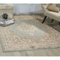 Nourison Ararat Light Blue Area Rug - 5' x 7'