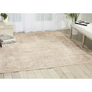 Nourison Graphic Illusions Ivory Area Rug (6'7 Square)