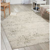 Porch & Den Greenpoint Russell Bone Area Rug - 6'7 x 9'6
