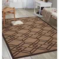 Nourison Enhance Latte Area Rug - 8' x 10'