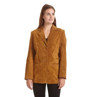 Excelled Women's Suede Blazer|https://ak1.ostkcdn.com/images/products/12317488/P19150799.jpg?_ostk_perf_=percv&impolicy=medium