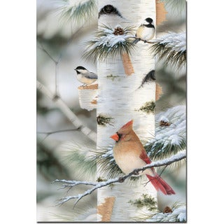 WGI Gallery 'Feathered Friends #2' Wood Print Wall Art