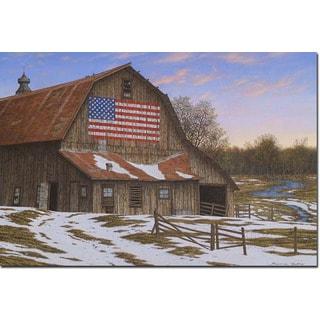 WGI Gallery 'Enduring Legacy Barn' Wall Art Printed on Wood