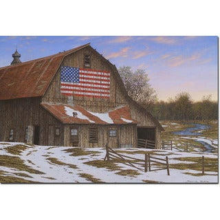 WGI Gallery 'Enduring Legacy Barn' Wall Art Printed on Wood