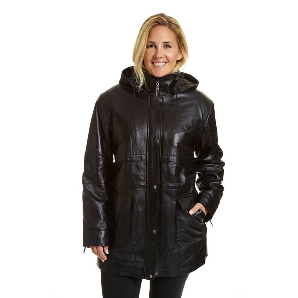 ccffc2bdbf00d Shop EXcelled Women s Plus-size Hooded Parka - Free Shipping Today ...